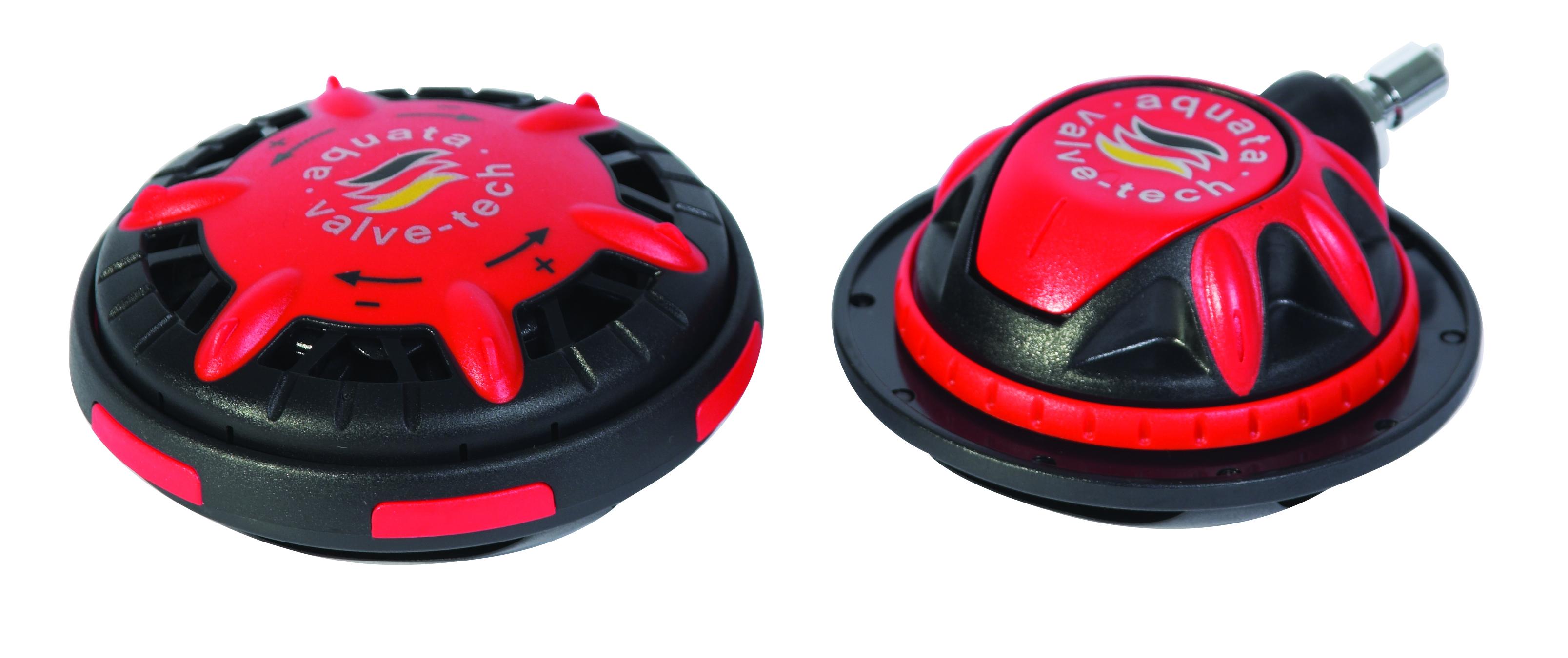 aquata Einlassventil  Mitteldruck für Trockentauchanzüge rot |aquata