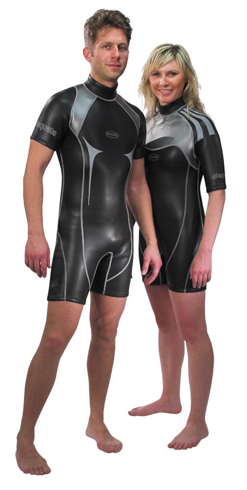 Sommer Tauchanzug, Monoshort      Herren  Neopren glatt  Modell  Cayman  |aquata