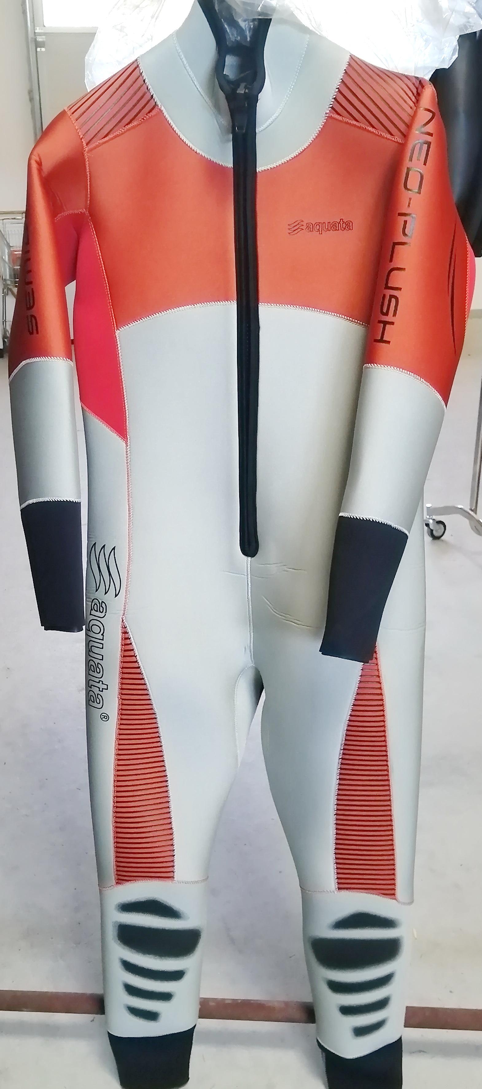 aquata Halbtrocken Tauchanzug   Overall  aus 6mm Neopren Einzelstück  Orion   Modell 2