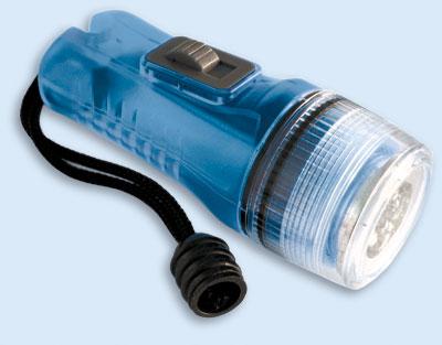 Taucherlampe, Notlampe LED   Dauer und Blink Taschenlampe