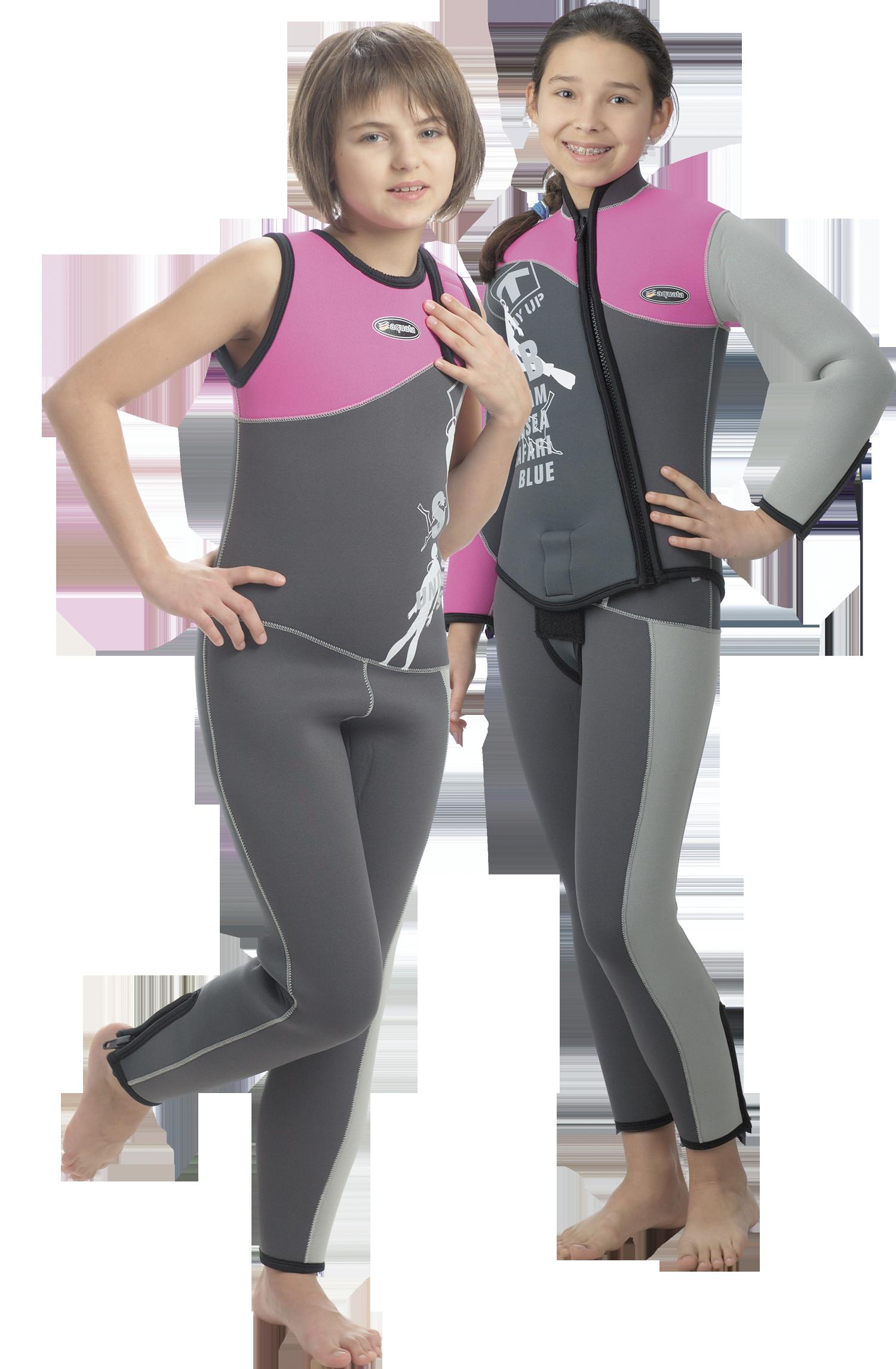 Nass Tauchanzug  6mm Neopren Set Jacke Hose Kinder,   Mädchen   Modell Cooldiver