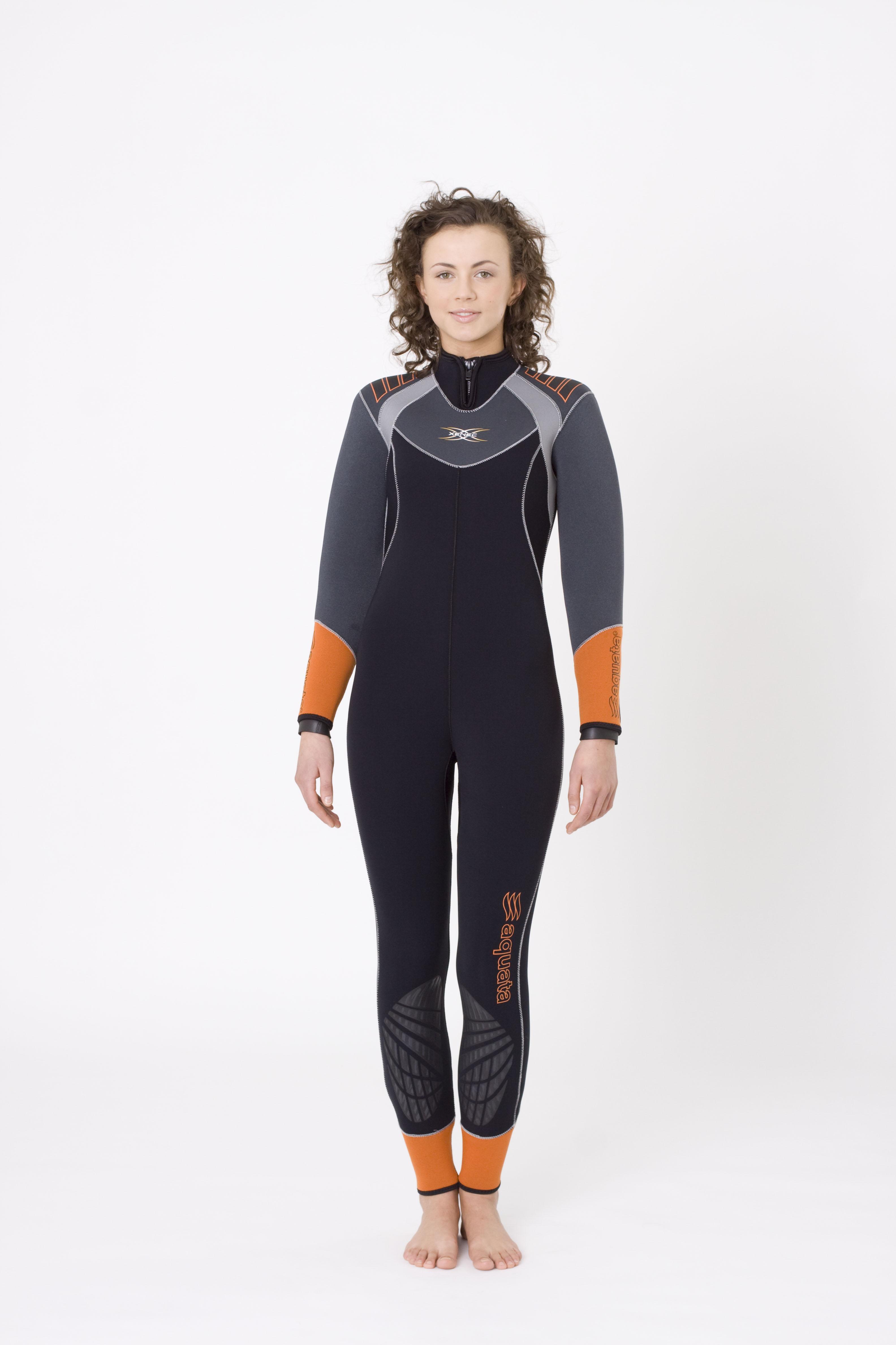 Halbtrocken Tauchanzug Overall     Damen  Xenec 09    aquata