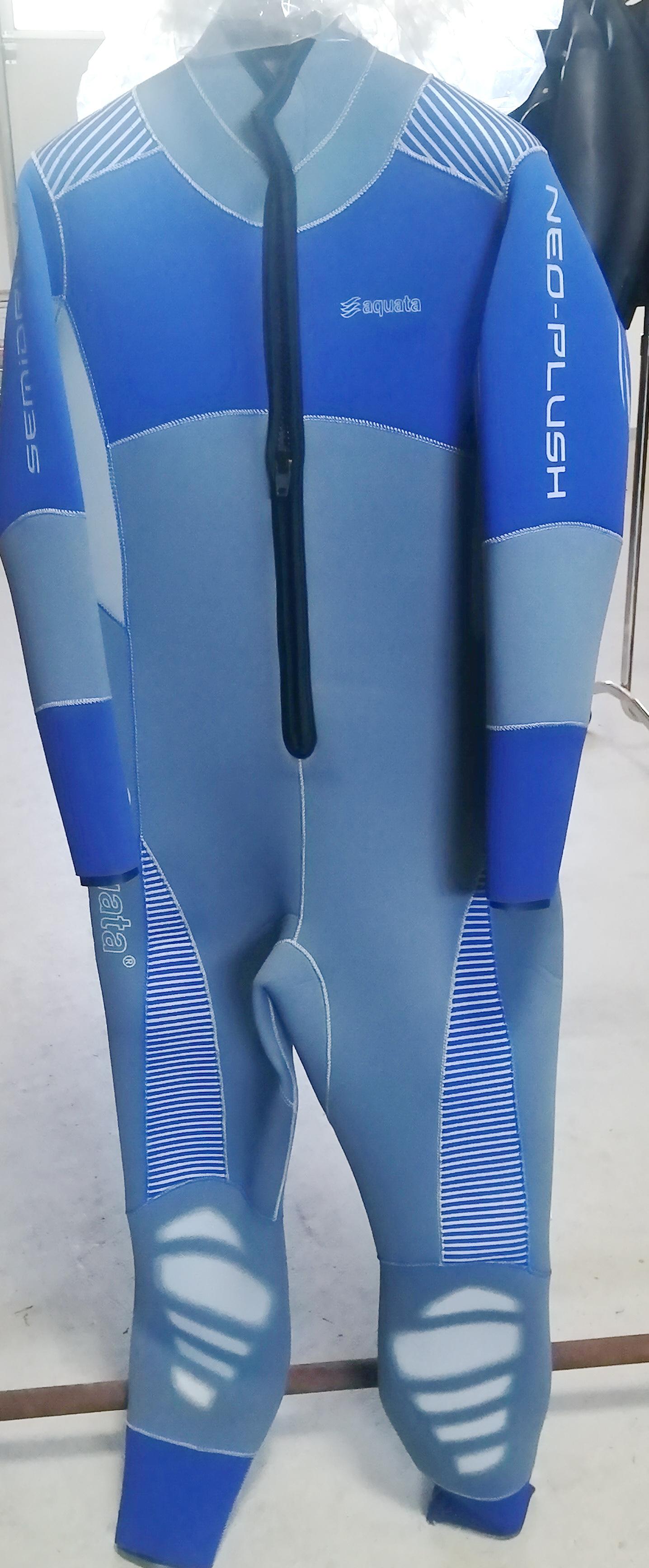 Halbtrocken Tauchanzug von aquata  Overall  Herren  6mm Neopren  Sondermodell  Orion Modell 1