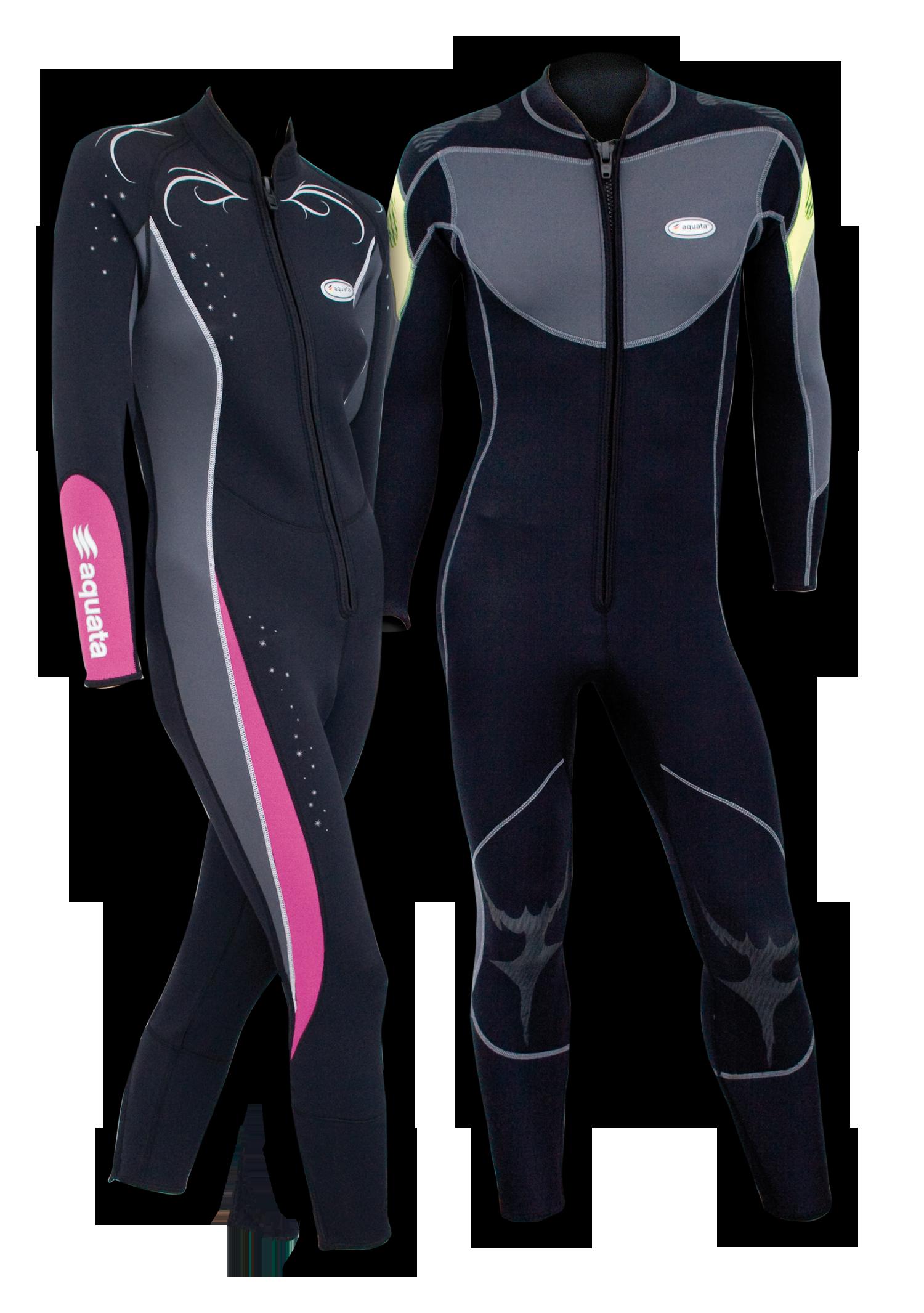 aquata Sommer Tauchanzug  und   Tropenoverall Damen aus 2,5mm Neopren    Modell WEGA |aquata